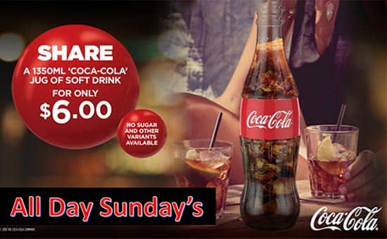 Share a Jug Of Coke Sundays