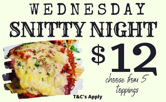 Wednesday Snitty Night